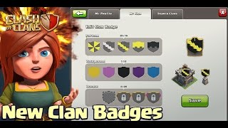 """getlinkyoutube.com-Clash of Clans """"NEW CLAN SHILED BADGES!"""" Clash of Clans New Update!"""