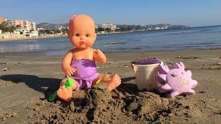 getlinkyoutube.com-La bebe nenuco se va a la playa / Capítulo 27 de las Aventuras de la Bebe