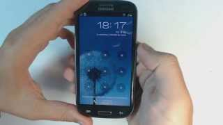 getlinkyoutube.com-Samsung Galaxy S3 I9300 - How to reset - Como restablecer datos de fabrica