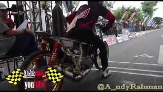getlinkyoutube.com-AHRS Indonesia Drag bike Championship kelas 2 Tak 140 TU AHRS Series 4 bantul