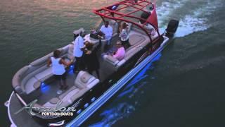 getlinkyoutube.com-2015 Pontoon Boats | Avalon Ambassador Video | Avalon Pontoon Boats