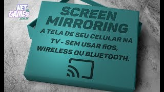 getlinkyoutube.com-A tela de seu celular na TV -  sem usar fios, wireless ou bluetooth.