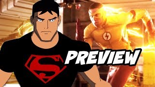 The Flash Season 5 Kid Flash Preview and Superboy on Titans Explained
