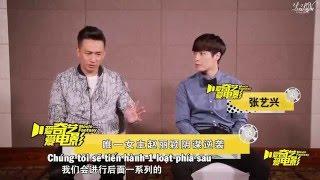 getlinkyoutube.com-[LoveLayVN] [Vietsub] iQiYi Go Fighting Interview - Zhang Yixing & Go Fighting Cast