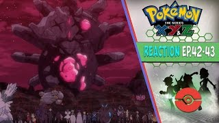 getlinkyoutube.com-Pokemon XYZ Anime Reaction Ep.42-43 - The Team Flare Arc Climax!