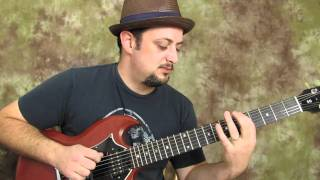 "getlinkyoutube.com-""A"" major pentatonic run - easy electric guitar lesson"