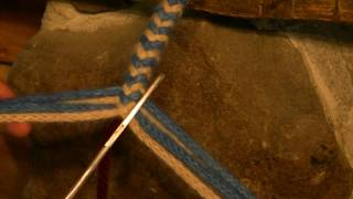 getlinkyoutube.com-How to braid 8 strands around a core