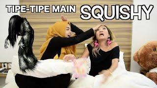 MAIN SQUISHY SAMPAI KESURUPAN?! w/ RACHEL GODDARD