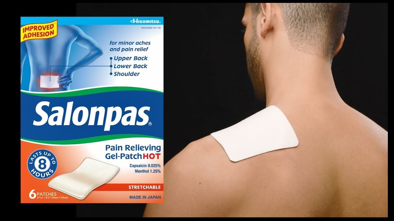 how to apply salonpas u00ae