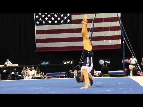 Jake Dalton - Floor - 2012 Visa Championships - Sr. Men - Day 1