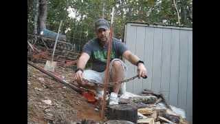 getlinkyoutube.com-Removing a Fence Post Easily How To