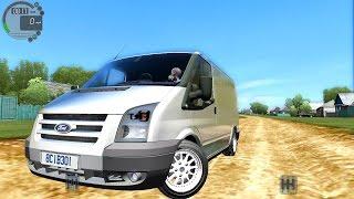 getlinkyoutube.com-City Car Driving 1.5.0 Ford Transit [Logitech G27]
