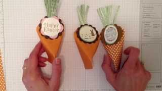 getlinkyoutube.com-Easter Carrot Treat Holder