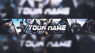 getlinkyoutube.com-Banner Template | Gaming 2015-2016 [Photoshop] - SpeedArt | Free