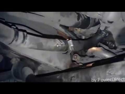 Тойота Превия замена антефриза и спуск воздуха