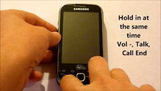 Hard Reset / Recovery Mode - Samsung Intercept