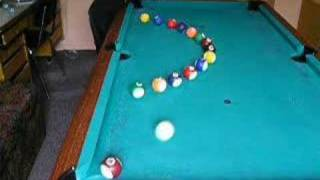 getlinkyoutube.com-Trickshot: Artistic Pool Trick Shots Pt 2
