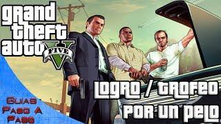 getlinkyoutube.com-Grand Theft Auto V | Logro / trofeo: Por un pelo (Localización de las acrobacias del avión)