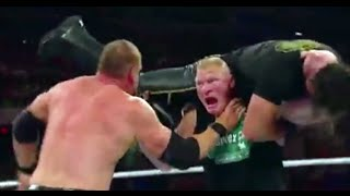 Seth Rollins Kane Destroying Brock Lesnar highlights 29 June 2015 WWE RAW