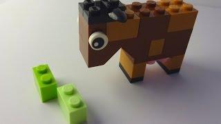 getlinkyoutube.com-How to build a Lego Cow - Lego Classic 10692 (2015)