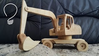 getlinkyoutube.com-Wooden Excavator