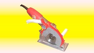 getlinkyoutube.com-РУЧНАЯ ЦИРКУЛЯРКА ИЗ БОЛГАРКИ (УШМ). MANUAL OF circular saw grinder ( LBM ) .