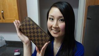 Louis Vuitton Zippy Wallet | Wear & Tear (1.5 years)