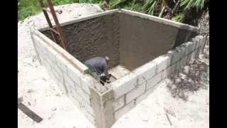 Tutorial para la construcción de una cisterna de agua pluvial (10m3)
