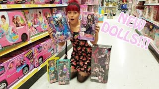getlinkyoutube.com-Toy Hunting NEW Monster High, Ever After High and Made To Move Barbie