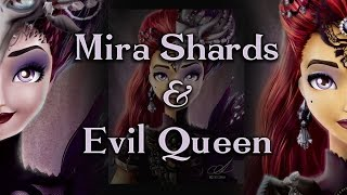 getlinkyoutube.com-Speed Art - Mira Shards and Evil Queen - Ever After High