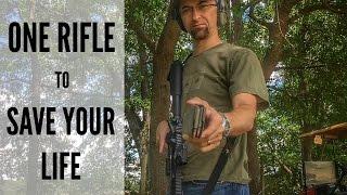 getlinkyoutube.com-ONE RIFLE TO SAVE YOUR LIFE | SELF DEFENSE RIFLE SETUP