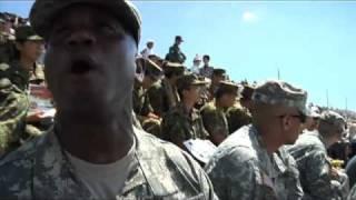 getlinkyoutube.com-061. Fuji Live Fire Demonstration / 富士総合火力演習を在日米陸軍が見学