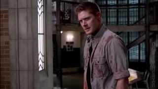 "getlinkyoutube.com-Supernatural 10x22 The Prisoner ""Dean tries to kill Castiel."""