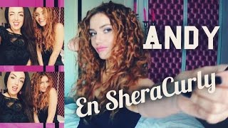 getlinkyoutube.com-Andy Raconte en SheraCurly (boucles et volume sur cheveux lisses)