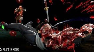 getlinkyoutube.com-Mortal Kombat 9 Komplete Edition All Fatalities / Babalities / XRay (Include Boss)