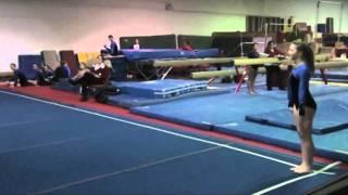 getlinkyoutube.com-Girl Breaks Both Ankles - Gymnastics Fail/Injury/Accident