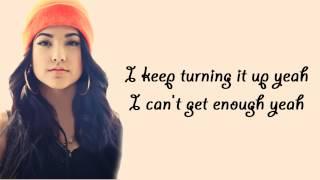 getlinkyoutube.com-Can't Get Enough (feat. Pitbull) - Becky G - Lyrics