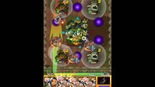 getlinkyoutube.com-[Monster Strike] Full Farmable Team vs. Kushinada (Orochi's Forest Prize Impossible - Solo)