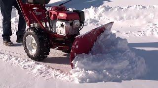 getlinkyoutube.com-Snow Plow from TURF TEQ - Walk Behind Snow Plow