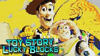 LUCKY BLOCKS TOY STORY MOD CHALLENGE - MINECRAFT MODDED MINI-GAME!