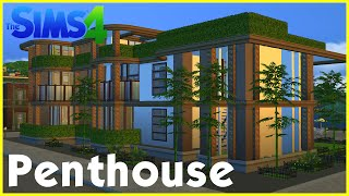 getlinkyoutube.com-Sims 4 Speedbuild: ★ Penthouse with rooftop garden ★