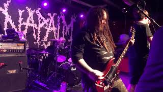 Napalm Death / Live / X Herford/ Germany / 4 April 2018