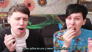 getlinkyoutube.com-TRILOGY OF TERROR - Dan and Phil play: Sonic 2 exe rus sub