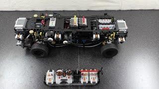 getlinkyoutube.com-LEGO Technic VW Phaeton 6.0 W12 scale 1:7 (Part II)