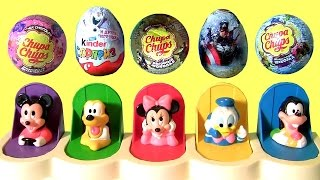 getlinkyoutube.com-Disney Baby Mickey Mouse Clubhouse Pop Up Pals Egg Surprise for Babies Minnie Goofy TOYS CLUB