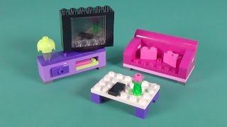 """getlinkyoutube.com-Lego Living Room Furniture Building Instructions - Lego Classic 10697 """"How To"""""""