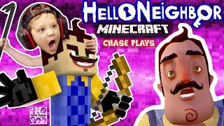 getlinkyoutube.com-HELLO NEIGHBOR MINECRAFT IMPOSTER!  FGTEEV Chase Plays! (Mod Map of Horror Adventure w/ ZOMBIE)