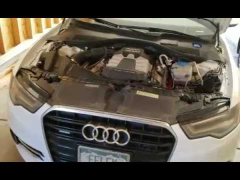 How to change oil on Audi A6 (C7 4G) 3.0T - DIY