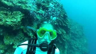 getlinkyoutube.com-Montego Bay Scuba Dive 3 of 6 - Active panic in open water diver