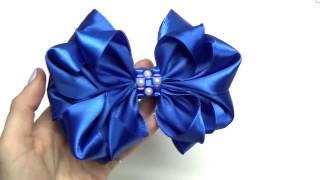 DIY crafts How to Make Beauty Easy Bow/ Ribbon Hair Bow Tutorial /DIY ribbon bow/DIY beauty and easy